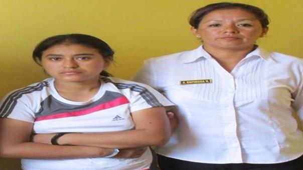 Policía captura a vendedora de droga de Chiclayo.