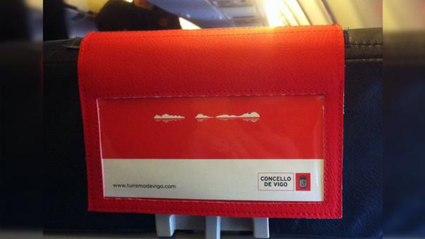 La imagen promocional incluye la silueta de las islas Cíes dibujada en blanco sobre un fondo rojo