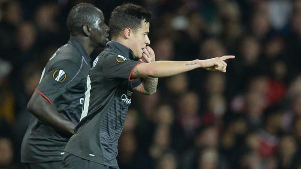Liverpool entró a cuartos de Europa League