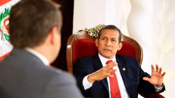 Piden al mandatario Ollanta Humala guardar el principio de neutralidad en las elecciones