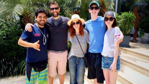 Julianne Moore disfruta del Perú junto a su familia