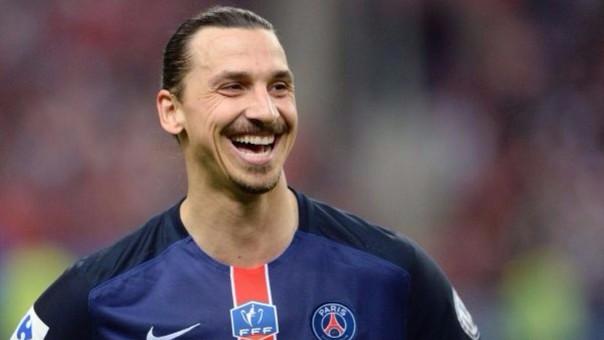 Zlatan Ibrahimovic con el PSG