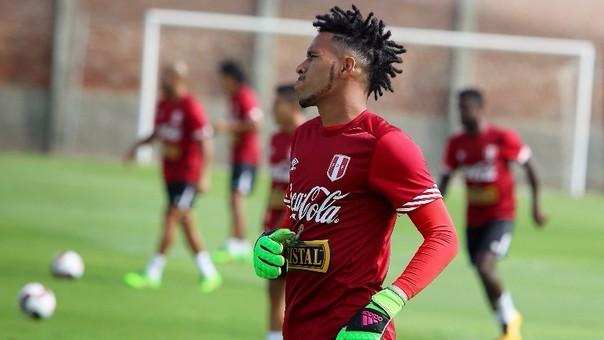 Pedro Gallese volverá al arco de la Selección Peruana.