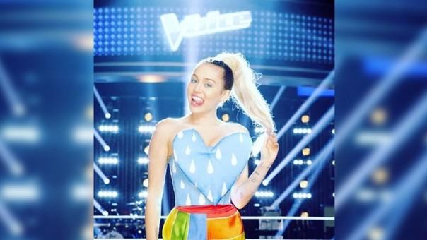 Miley Cyrus se suma como coach en The Voice