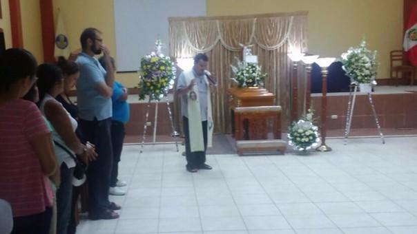 Velatorio de médico en Iquitos.