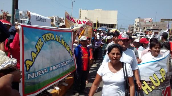 Dirigentes temen pos sus  vidas ante traficantes de terrenos