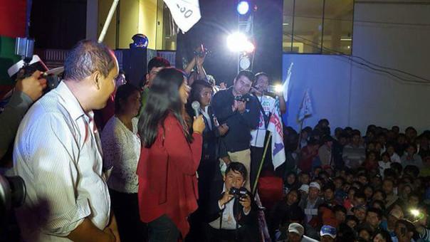 Verónika Mendoza en Abancay