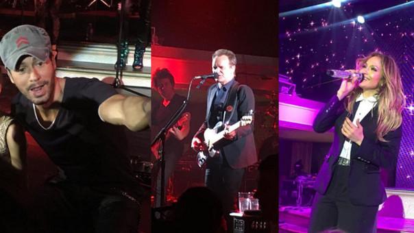 Sting, Enrique Iglesias y JLo cantan en una boda rusa.