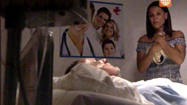 Charo y Coqui en el hospital