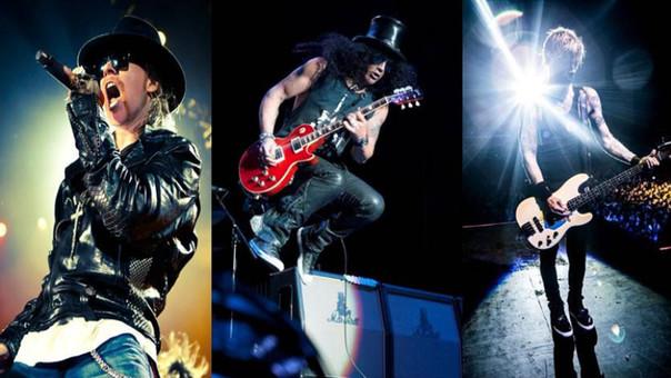 Guns N' Roses dará hoy un concierto no anunciado en Los Ángeles