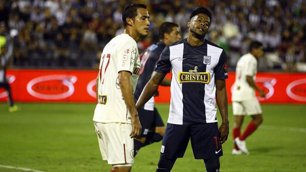 Alianza Lima y Universitario empataron 1-1 en el Clásico suspendido