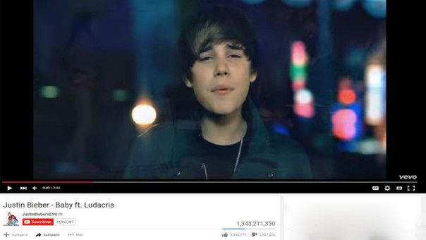El video del tema