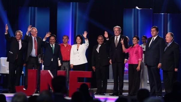 Debate de candidatosa la presidencia