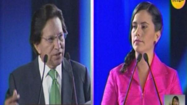 Toledo y Mendoza debatieron