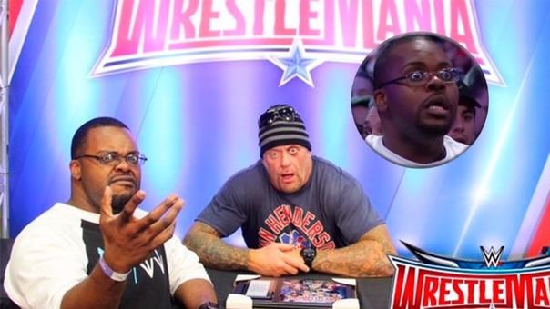 Ellis Mbeh se hizo famoso al reaccionar luego de la derrota de The Undertaker.