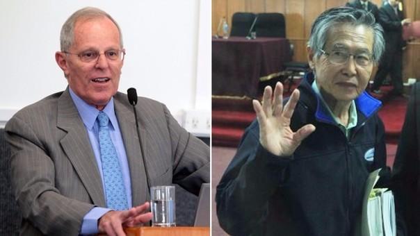 PPK y Alberto Fujimori