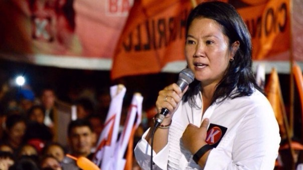 Keiko Fujimori prefirió evitar ahondar en tema de Panamá Papers