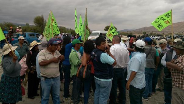 Protesta tiamaria