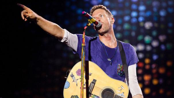 Chris Martin, líder de la banda Coldplay