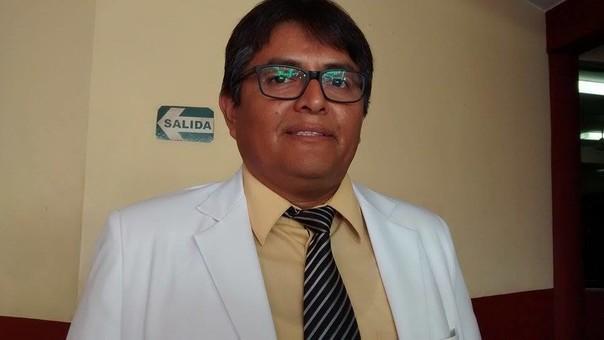 Director de la Red de Salud Pacífico Sur, Hugo Meléndez.