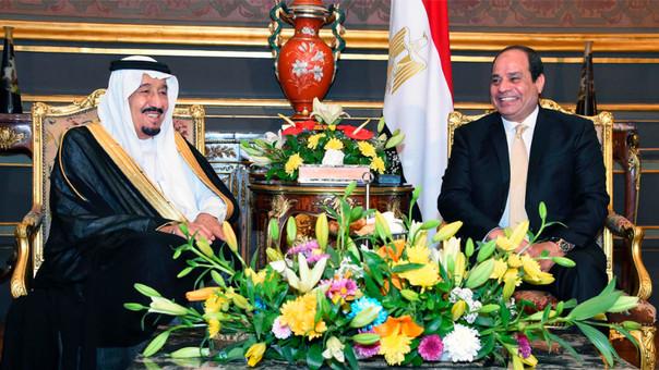 Egipto cedió dos islas a Arabia Saudita