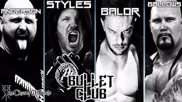 The Bullet Club en la WWE