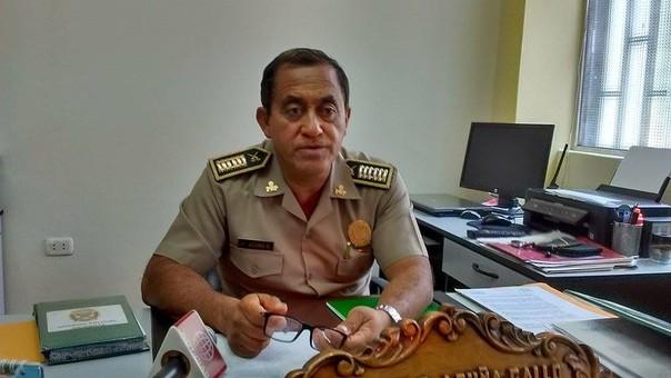 Jefe de la División Policial Chimbote