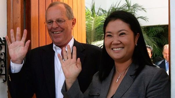 PPK y Fujimori disputarían la segunda vuelta. Ambos fueron aliados políticos en 2011.