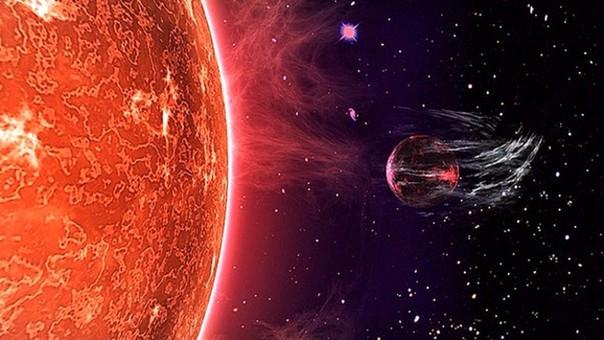 que los planetas que orbitan muy cerca de su estrella quedan despojados de su atmósfera