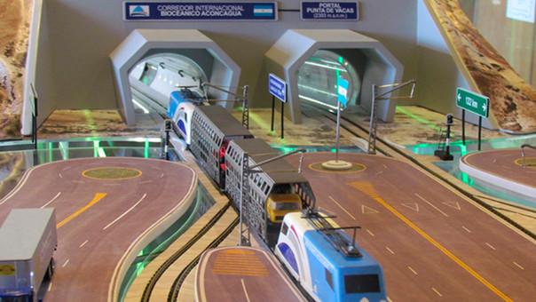 Túnel unirá Argentina y Chile