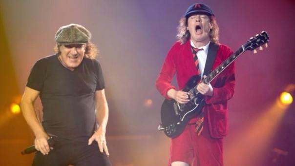 Brian Johnson y Angus Young, líderes de AC/DC