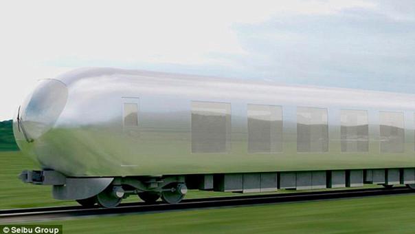 El tren invisible que quiere construir Japón