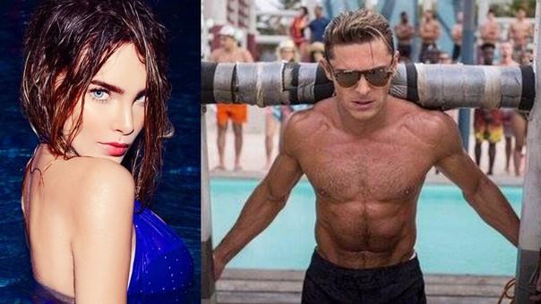 Belinda Y Zac Efron Así Fue Su Relación En Baywatch Rpp Noticias