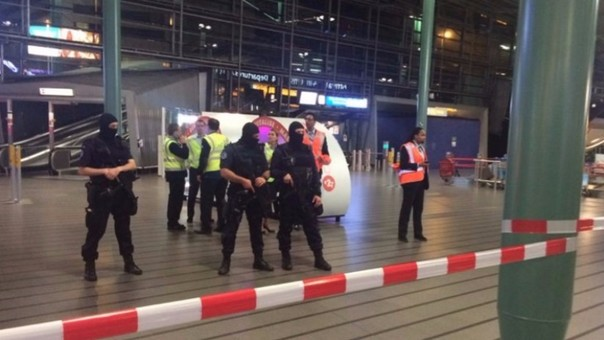 Amenaza de bomba en Ámsterdam (Países Bajos)