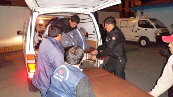 Herido llega a Hospital Regional de Cajamarca (Foto Referencial)