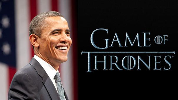 Obama pidió los primeros capítulos de la sexta temporada
