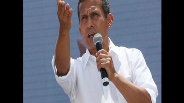 Presidente de la República Ollanta Humala Tasso