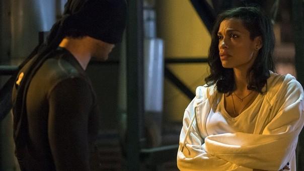 Claire Temple, la enfermera amiga de Daredevil es interpretada por Rosario Dawson