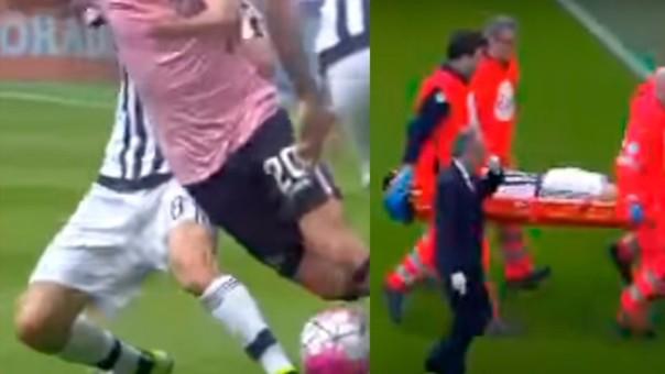 Claudio Marchisio no la pasa nada bien en el fútbol