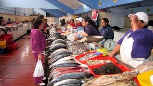 pescado en mercados