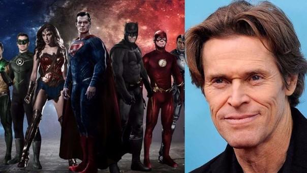 Dawn of the Justice League: Willem Dafoe se unió al elenco