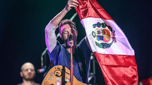 Chris Martin dedicó tema a novios peruanos