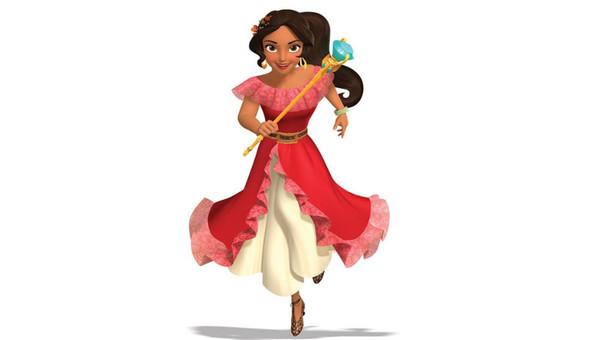 Elena de Avalor, la primera princesa latina llega a los parques de Disney