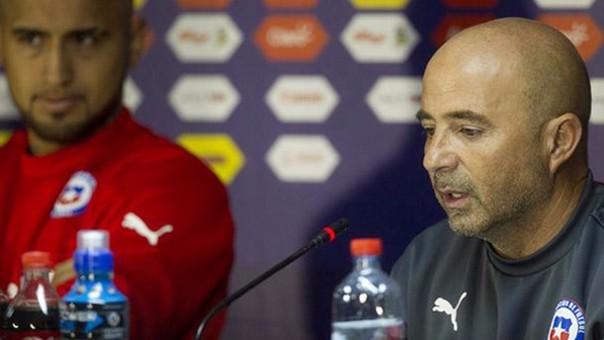 Jorge Sampaoli dejó un crudo mensaje para los hinchas del fútbol sobre Arturo Vidal.
