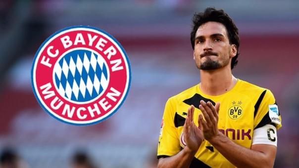 Matts Hummels a un paso de fichar por el Bayern Munich