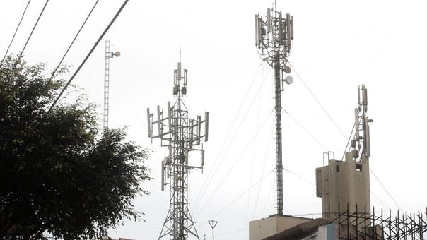 Según Osiptel el país necesita 7 145 antenas para cubrir el déficit y mejorar la conectividad en el servicio de telefonóa móvil
