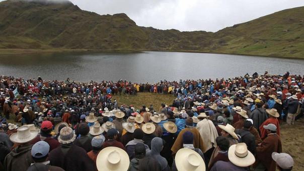Roque Benavides, presidenteejecutivo de Minas Buenaventura, principal accionista de minera Yanacocha dueña del proyecto Minas Conga dijo que ya no es viable.