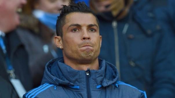 Cristiano Ronaldo no estuvo en el Real Madrid vs. Manchester City