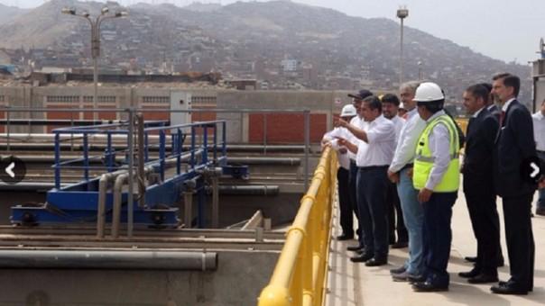 El presidente Ollanta Humala inauguró esta obra el jueves en Lima.