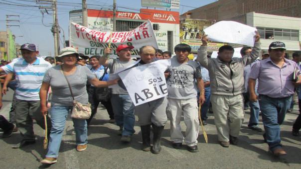 Abigeo detenido en Huaral